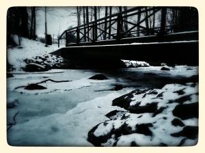 Day 27: Proekt 365 A familiar spot frozen over