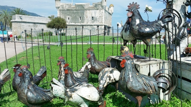 Giant chickens for the masses