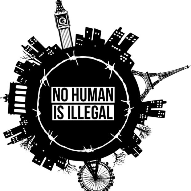 NoHumanIsIllegal_Logo_Klein.