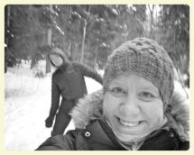 Snow silliness