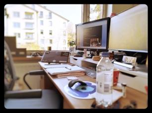 My new workspace....ah....