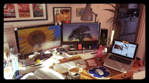 My old workspace....