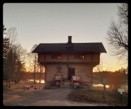 Backlit House