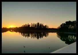 Evening Stroll - sunset