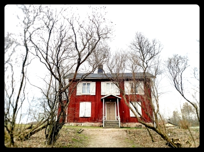 Red House on the Hill